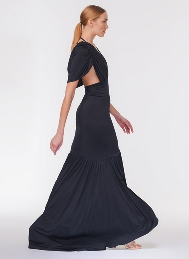 Davet Çok Elbisem Yok Elbise Lacivert